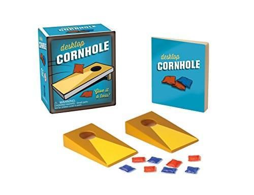 Desktop Cornhole (Give it a toss!) (Miniature Edition) by Running Press, Running Press, 9780762459308