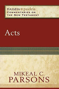 Acts by Mikeal C. Parsons, Mikeal Parsons, Charles Talbert, 9780801031885