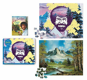 Bob Ross 2-in-1 Double-Sided 500-Piece Puzzle by Robb Pearlman, 9780762474691