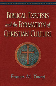 Biblical Exegesis and the Formation of Christian Culture by Frances M. Young, 9780801048166