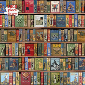 Adult Jigsaw Puzzle Bodleian Library: High Jinks Bookshelves (1000-piece Jigsaw Puzzles) by Flame Tree Studio, 9781786646354
