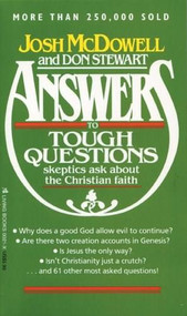 Answers by Josh D. McDowell, Don Stewart, 9780842300216