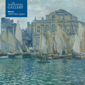 Adult Jigsaw Puzzle National Gallery: Monet The Museum at Le Havre (1000-piece Jigsaw Puzzles) by Flame Tree Studio, 9781787556096