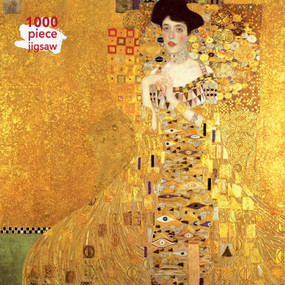 Adult Jigsaw Puzzle Gustav Klimt: Adele Bloch Bauer (1000-piece Jigsaw Puzzles) by Flame Tree Studio, 9781787556133