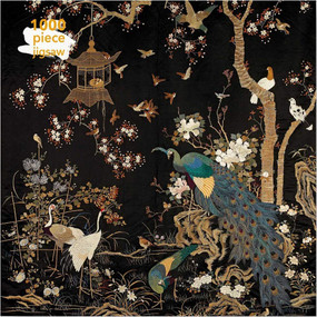 Adult Jigsaw Puzzle Ashmolean Museum: Embroidered Hanging with Peacock (1000-piece Jigsaw Puzzles) by Flame Tree Studio, 9781787558953