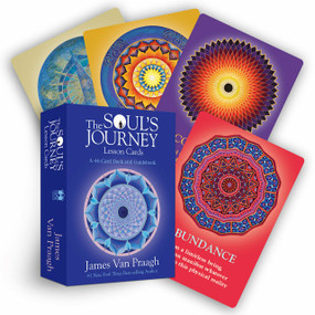 The Soul's Journey Lesson Cards (A 44-Card Deck and Guidebook) (Miniature Edition) by James Van Praagh, 9781401944711