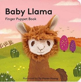 Baby Llama: Finger Puppet Book (Miniature Edition) by Chronicle Books, Yu-Hsuan Huang, 9781452170817