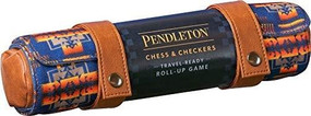 Pendleton Chess & Checkers Set (Travel-Ready Roll-Up Game (Camping Games, Gift for Outdoor Enthusiasts)) by Pendleton Woolen Mills, 9781452172583