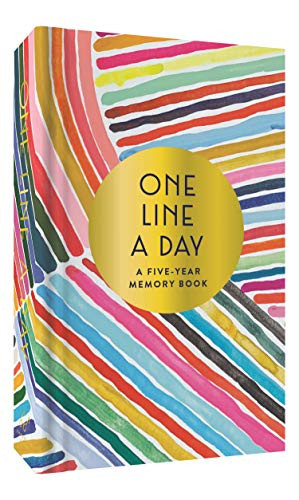 Rainbow One Line a Day (A Five-Year Memory Book) (Miniature Edition) by Kindah Khalidy, 9781452174808