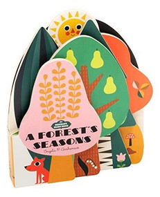 Bookscape Board Books: A Forest's Seasons ((Colorful Children?s Shaped Board Book, Forest Landscape Toddler Book)) by Ingela P. Arrhenius, 9781452174945
