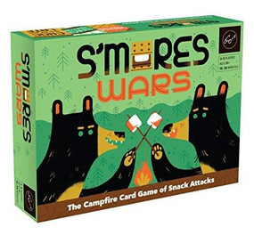 S'mores Wars (The Campfire Card Game of Snack Attacks (Competitive Card-Drafting Marshmallow Game for the Whole Family, Fast and Fun Food-Themed Card Game)) by Forrest-Pruzan Creative, 9781452176628