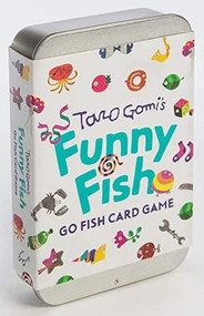 Taro Gomi's Funny Fish: Go Fish Card Game ((Stocking Stuffer, Kid's Gift, Birthday Gift, Art Cards)) (Miniature Edition) by Taro Gomi, 9781452176833