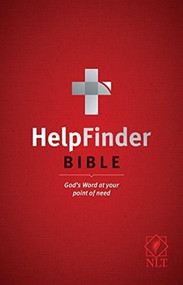 HelpFinder Bible NLT (Red Letter, Hardcover) (God's Word at Your Point of Need) by Ronald A. Beers, V. Gilbert Beers, 9781496422927