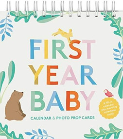 First Year Baby Calendar & Photo Prop Cards ((Baby Shower Gift, New Baby Gift)) by Chronicle Books, 9781452178332