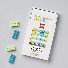 LEGO Brick Erasers (Miniature Edition) by LEGO, 9781452179636