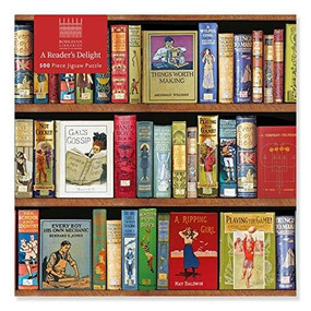 Adult Jigsaw Puzzle Bodleian Libraries: A Reader's Delight (500 pieces) (500-piece Jigsaw Puzzles) by Flame Tree Studio, 9781839644337