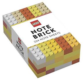 LEGO® Note Brick (Yellow-Orange) (Miniature Edition) by LEGO, 9781452180397