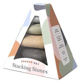 Stacking Stones (Eraser Set (Novelty Gift, Artist Gift, Writer Gift, Stocking Stuffer)) (Miniature Edition) by Chronicle Books, 9781452181233