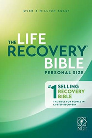 NLT Life Recovery Bible, Second Edition, Personal Size (Softcover) by Stephen Arterburn, David Stoop, 9781496427588