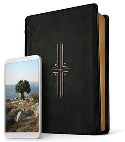 Filament Bible NLT (LeatherLike, Black) (The Print+Digital Bible) by , 9781496433176