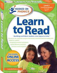 Hooked on Phonics Learn to Read - Level 5 (Transitional Readers (First Grade | Ages 6-7)) by Hooked on Phonics, 9781940384146