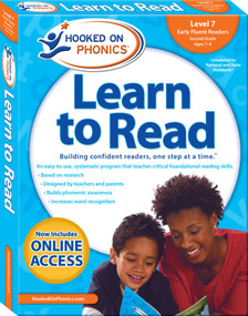 Hooked on Phonics Learn to Read - Level 7 (Early Fluent Readers (Second Grade | Ages 7-8)) by Hooked on Phonics, 9781940384160