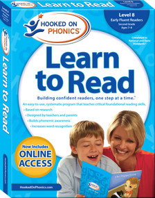 Hooked on Phonics Learn to Read - Level 8 (Early Fluent Readers (Second Grade | Ages 7-8)) by Hooked on Phonics, 9781940384177