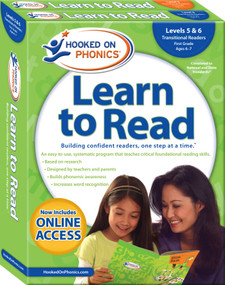 Hooked on Phonics Learn to Read - Levels 5&6 Complete (Transitional Readers (First Grade | Ages 6-7)) by Hooked on Phonics, 9781940384207