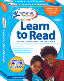 Hooked on Phonics Learn to Read - Levels 7&8 Complete (Early Fluent Readers (Second Grade | Ages 7-8)) by Hooked on Phonics, 9781940384214