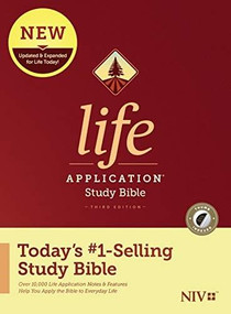 NIV Life Application Study Bible, Third Edition (Hardcover, Indexed) by , 9781496439413