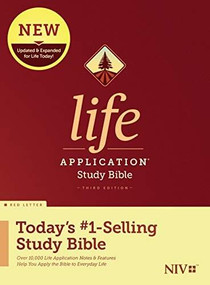 NIV Life Application Study Bible, Third Edition (Red Letter, Hardcover) by , 9781496439468