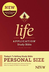 NIV Life Application Study Bible, Third Edition, Personal Size (Softcover) by , 9781496440129