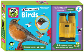 Look and Learn Birds by PBS KIDS, Sarah Parvis, 9781941367292