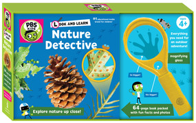 Look and Learn Nature Detective by Sarah Parvis, 9781941367414