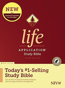 NIV Life Application Study Bible, Third Edition (Red Letter, Hardcover, Indexed) by , 9781496442048