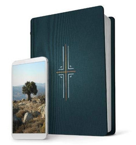 Filament Bible NLT (Hardcover Cloth, Midnight Blue, Indexed) (The Print+Digital Bible) by , 9781496444462