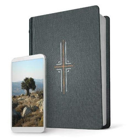 Filament Bible NLT (Hardcover Cloth, Gray, Indexed) (The Print+Digital Bible) by , 9781496444479