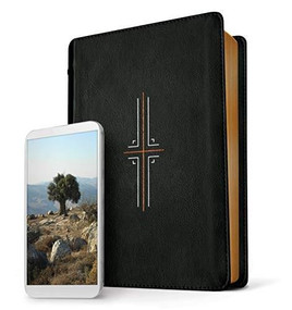 Filament Bible NLT (LeatherLike, Black, Indexed) (The Print+Digital Bible) by , 9781496444417