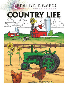 Creative Escapes Coloring Book: Country Life by Racehorse Publishing, 9781944686352