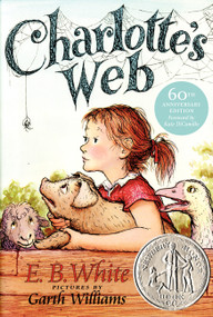 Charlotte's Web - 9780064400558 by E. B. White, Garth Williams, Kate DiCamillo, 9780064400558
