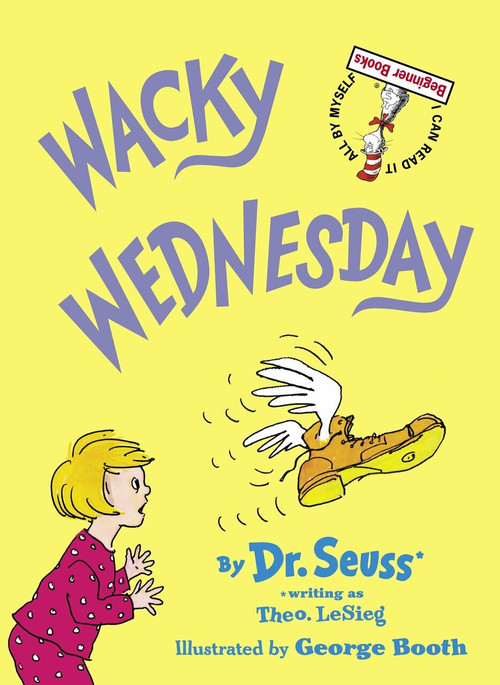 Wacky Wednesday by Dr. Seuss, George Booth, 9780394829128