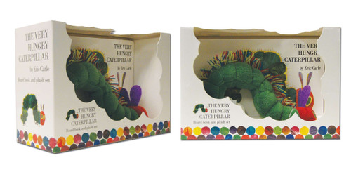 The Very Hungry Caterpillar Board Book and Plush by Eric Carle, Eric Carle, 9780399242052