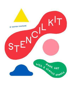 Stencil Kit (Blue Smile, Red Apple, Yellow Snake...) by Bastien Contraire, 9781786277756