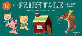 The Fairytale Memory Game (Match 3 cards & tell a story) by Anna Claybourne, Yeji Yun, 9781786278906