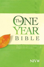 The One Year Bible NIV (Softcover) by , 9781414359915
