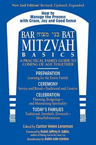Bar/Bat Mitzvah Basics 2/E (A Practical Family Guide to Coming of Age Together) by Cantor Helen Leneman, Rabbi Jeffrey K. Salkin, MA Gordon, Rabbi Julie, 9781681629834