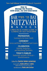 Bar/Bat Mitzvah Basics 2/E (A Practical Family Guide to Coming of Age Together) - 9781580231510 by Cantor Helen Leneman, Rabbi Jeffrey K. Salkin, MA Gordon, Rabbi Julie, 9781580231510