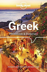 Lonely Planet Greek Phrasebook & Dictionary (Miniature Edition) by Thanasis Spilias, Lonely Planet, 9781786573780