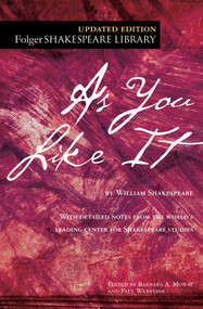 As You Like It by William Shakespeare, Dr. Barbara A. Mowat, Paul Werstine, 9781982109400