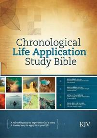KJV Chronological Life Application Study Bible (Hardcover) by , 9781414380582